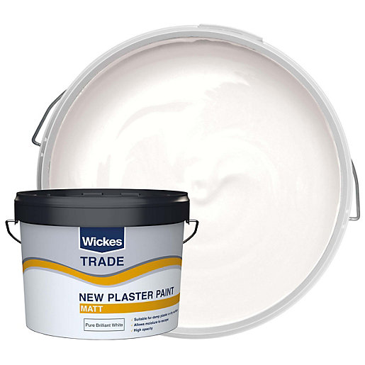 Wickes Trade Emulsion Paint for New Plaster -