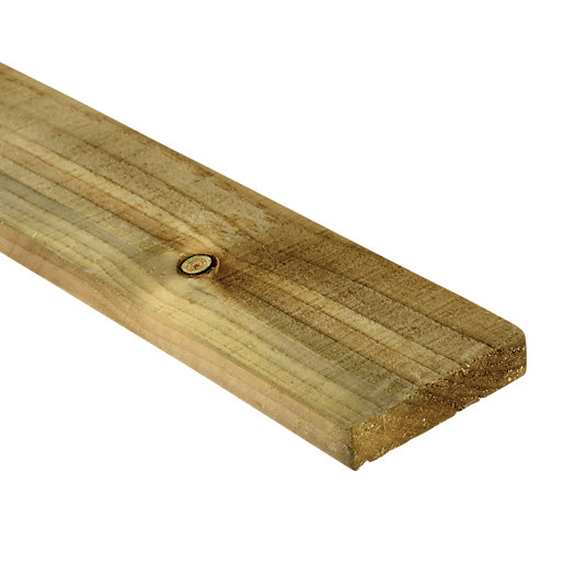 Wickes Treated Sawn Timber - 19mm x 100mm