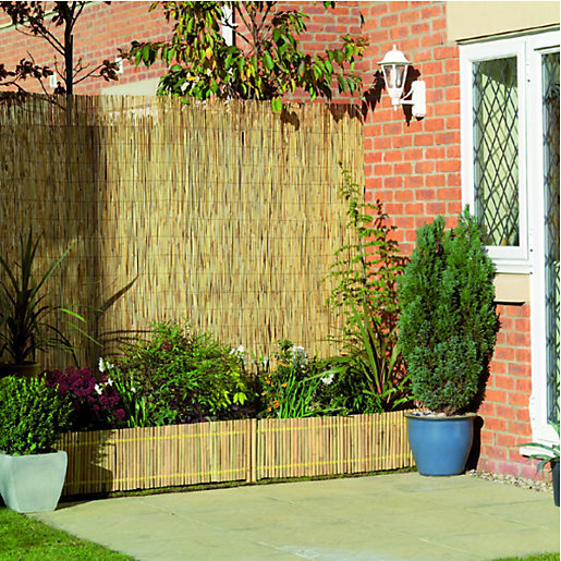 Wickes Reed Garden Screening 2 X 4m Wickes Co Uk