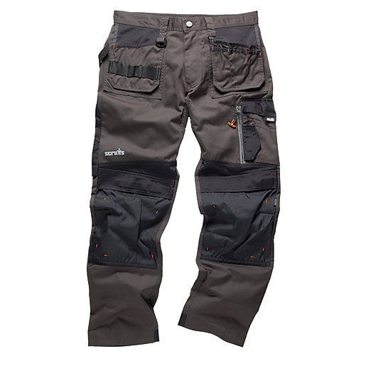 Scruffs 3D Trade Graphite Trousers - Short Leg