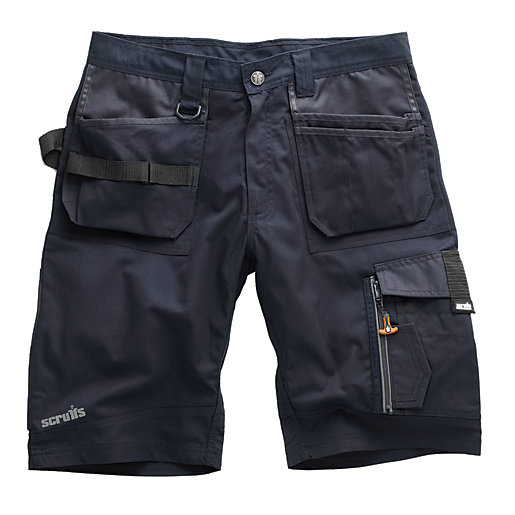 Scruffs Trade Shorts Blue