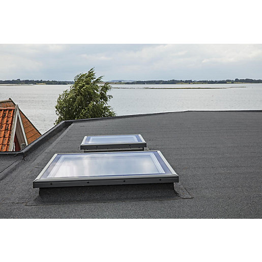 Velux Flat Roof Flat Glass Cover Wickes Co Uk