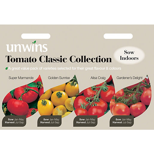 Unwins Classic Collection Tomato Seeds