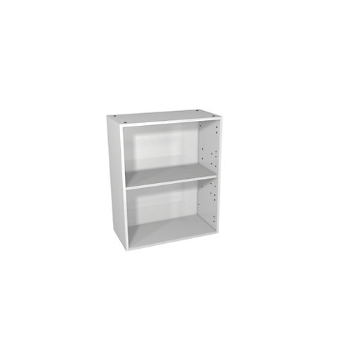 Wickes Vermont White Floor Standing or Wall Open