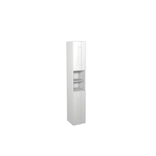 Wickes Vermont White Floorstanding Tall Tower Unit -