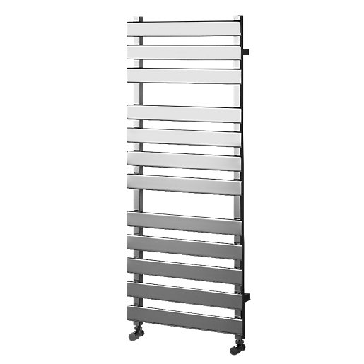 Wickes Haven Flat Panel Designer Towel Radiator -