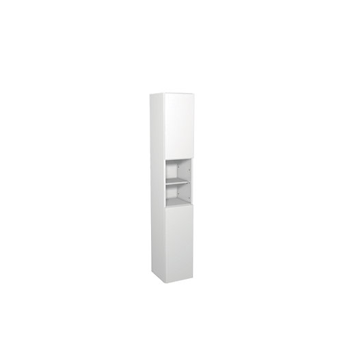 Wickes Vienna White Gloss Floor Standing Tall Tower