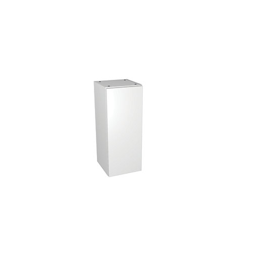 Wickes Vienna White Gloss Floor Standing or Wall