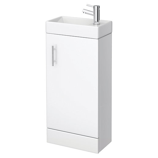 Vieste Cloakroom Bathroom Suite - Toilet and Compact