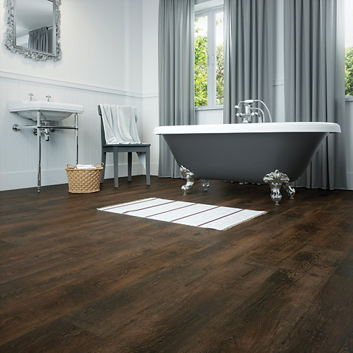 Tellaro oak luxury vinyl flooring for Large vinyl floor tiles