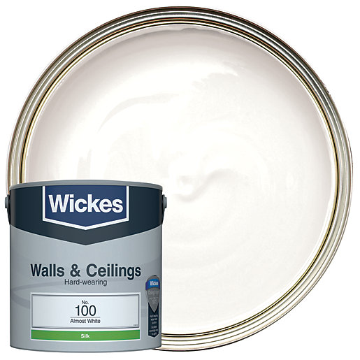 Wickes Almost White - No. 100 Vinyl Silk
