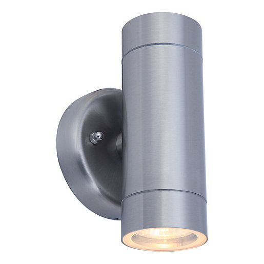 Lutec Vienna Stainless Steel Up & Down Light