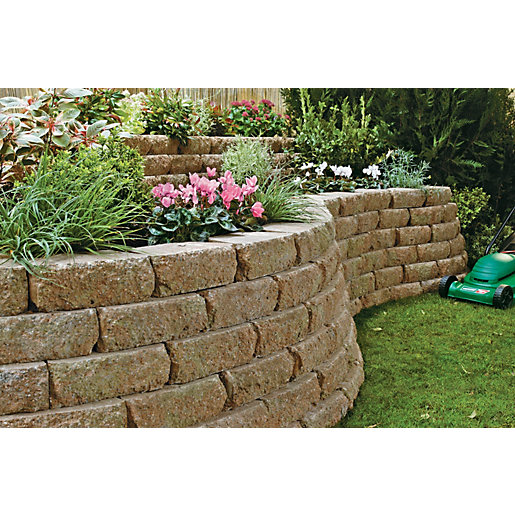 Marshalls Croft Textured Walling   Weathered 300 X 170 X 100mm Pack Of 90