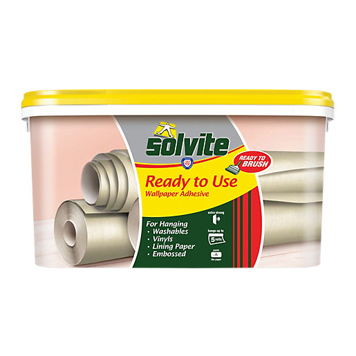 Solvite Ready to Use Wallpaper Paste - 5 Roll