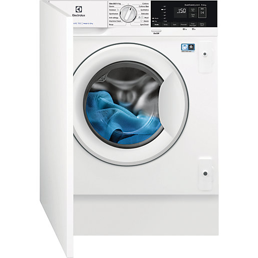 Electrolux Built In Washer Dryer with SteamCare E776W402BI