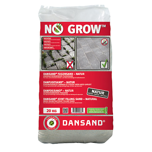 dansand no grow block paving sand. Black Bedroom Furniture Sets. Home Design Ideas