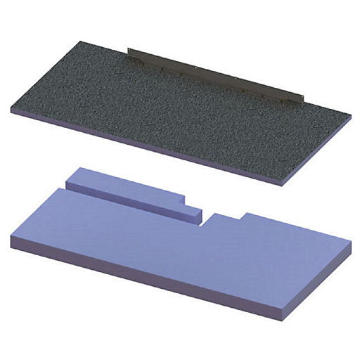 Wickes 140mm Elements Concept Raised Base Shower Tray