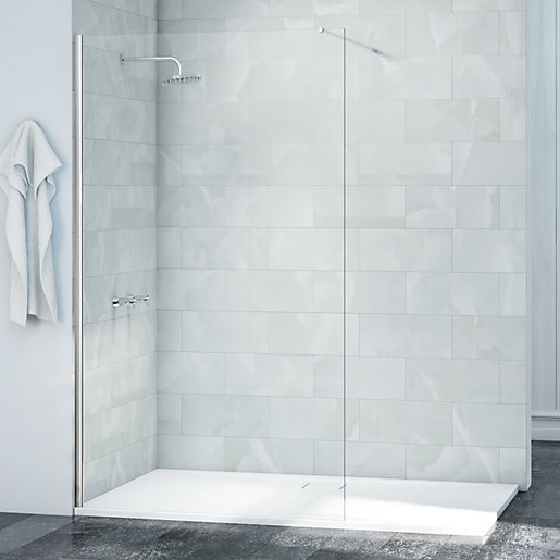 Nexa By Merlyn 8mm Single Fixed Wet Room