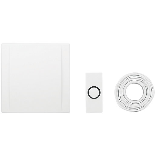 Byron 720 Wired Wall Mounted Doorbell