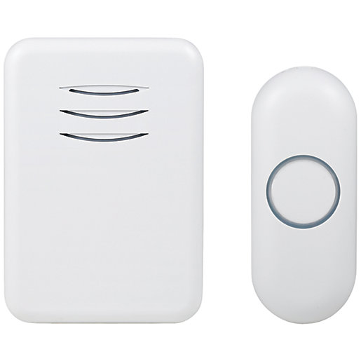 Byron DBY-22311 150m Wireless Doorbell with Portable Chime