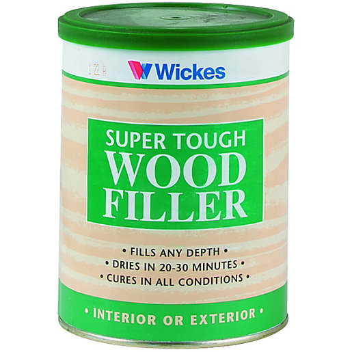 Wickes Super Tough Wood Filler Natural 1kg