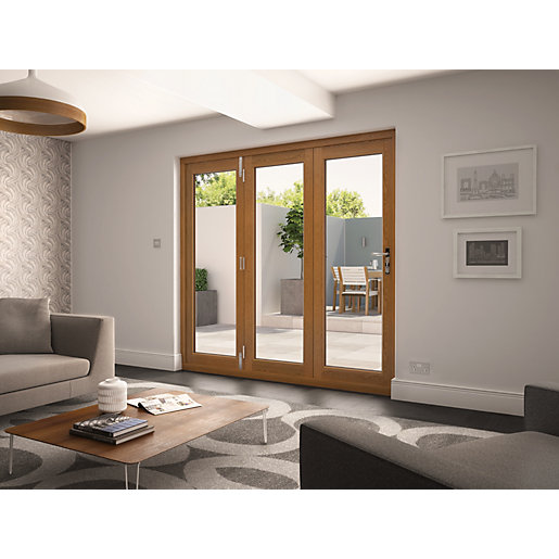 Wooden Bifold Patio Doors Bifold Patio Doors Wickes