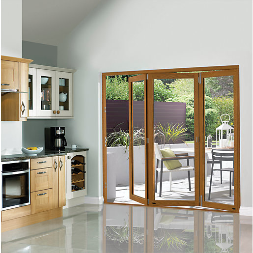 Wooden BiFold Patio Doors | BiFold Patio Doors | Wickes.co.uk