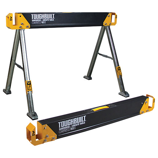 Toughbuilt C550-2 Saw Horse and Jobsite Table Twin