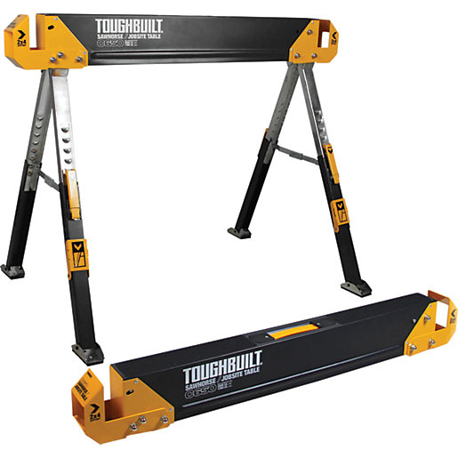 Toughbuilt C650-2 Saw Horse and Jobsite Table Twin