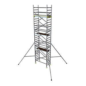 BoSS Clima 3T Access Tower 0.85m (W) x 1.8m (L) 4.2m Platform Height
