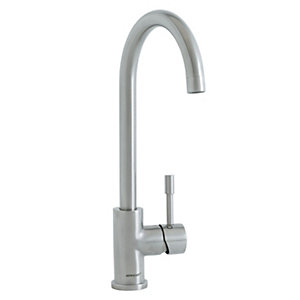 Vanguard Single Lever Brushed Tap - High Pressure