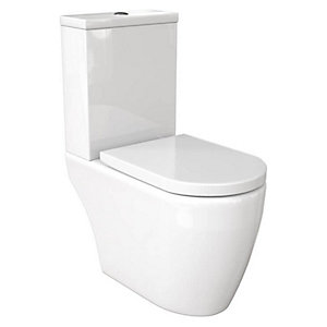 Wickes Galeria Back To Wall Toilet Pan & Soft Close Seat