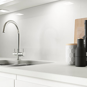 AluSplash Splashback - Ice White