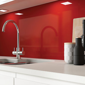 AluSplash Splashback - Spanish Red