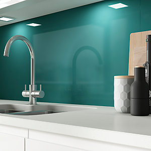 AluSplash Splashback - Totally Teal