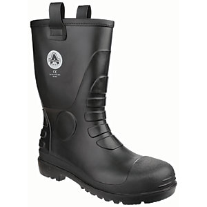 Amblers Safety FS90 Rigger Safety Boot - Black