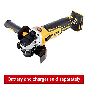 DEWALT DCG405N-XJ 18V XR Cordless Brushless Angle Grinder 125mm - Bare