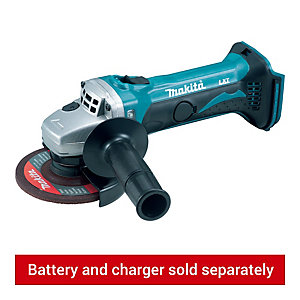 Makita DGA452Z 18V Cordless Angle Grinder 115mm - Bare