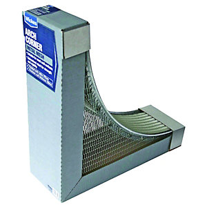 Wickes Galvanised Arch Corner Kit - 230mm x 372mm