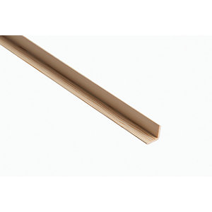 Wickes Pine Angle Moulding - 34mm x 34mm x 2.4m