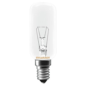 Sylvania Incandescent Dimmable Tubular Bulb - 25W E14 217lm