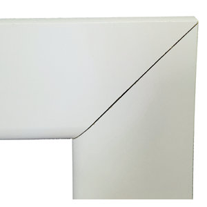 Wickes Bullnose Mitred Primed MDF Architrave Set - 14.5mm x 69mm x 2.1m