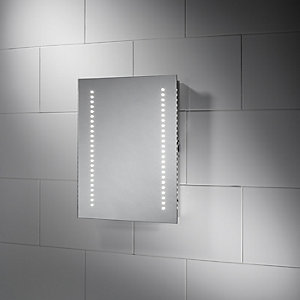 Wickes Oslo LED Bathroom Mirror - 500mm