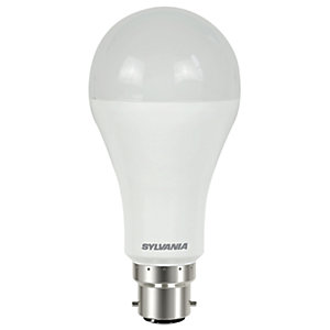 Sylvania LED GLS Dimmable Frosted Light Bulb - 15W B22 1521lm