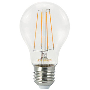 Sylvania LED GLS Non Dimmable Clear Filament Bulb - 7W E27 806lm