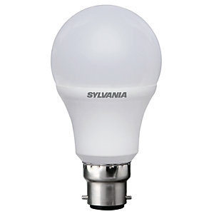 Sylvania LED GLS Non Dimmable Frosted Bulb - 5.5W B22 470lm