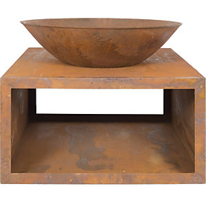 La Hacienda Moho Steel Outdoor Firepit