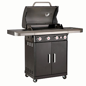 Landmann 4.1 Rexon PTS 5 Gas Burner BBQ - Black