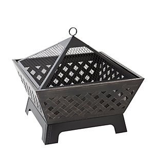 Landmann Barrone Outdoor Fire Pit  - Brass