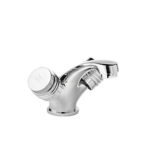 Wickes Salerno Basin Mixer Tap - Chrome